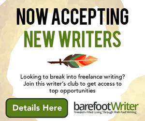 barefoot writer ad awai.org