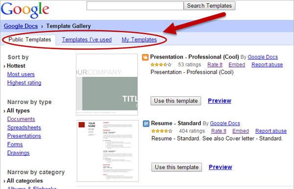 Leverage Your Time with Google Doc Templates