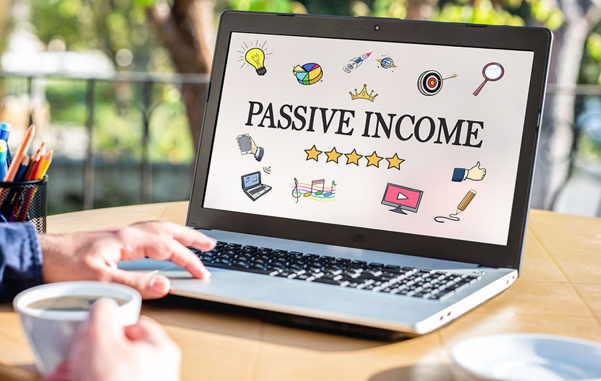 Generate passive income from a website