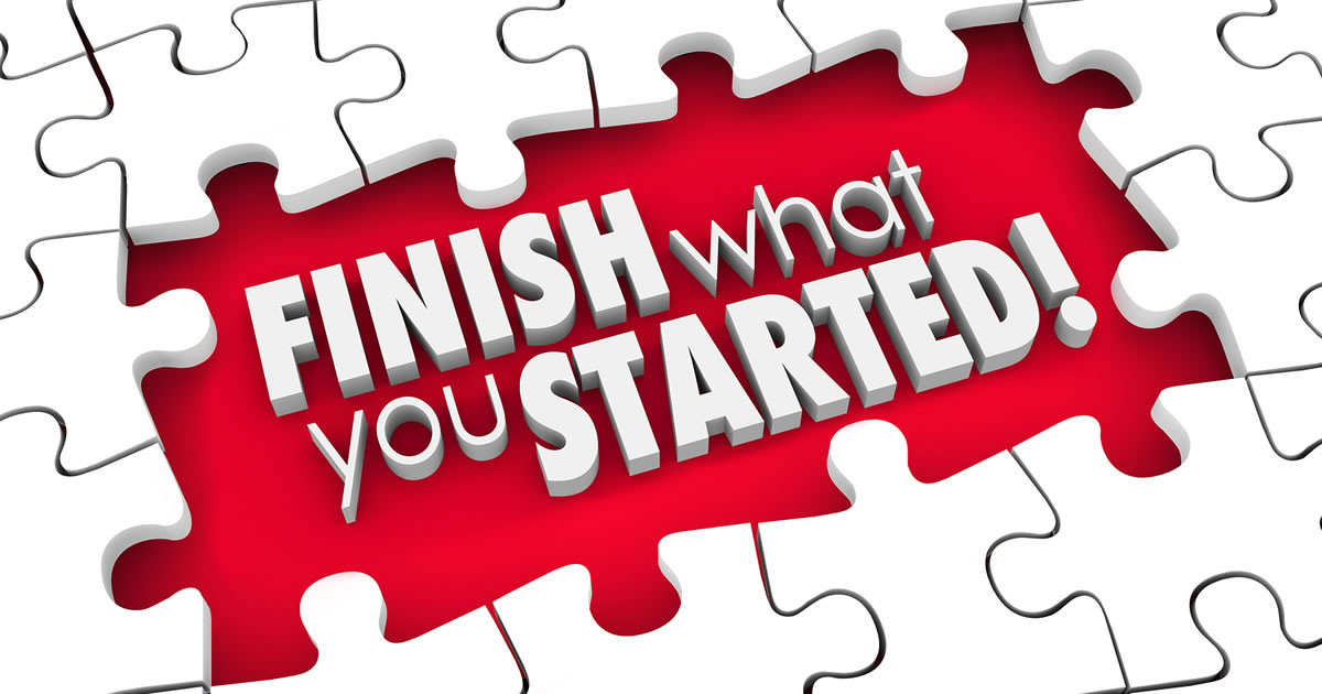 The Zeigarnik Effect: Finish What You've Started