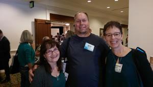 Weiss Research spec challenge winners Elizabeth Blessing, Biran Ochsner, and Chris Allsop.