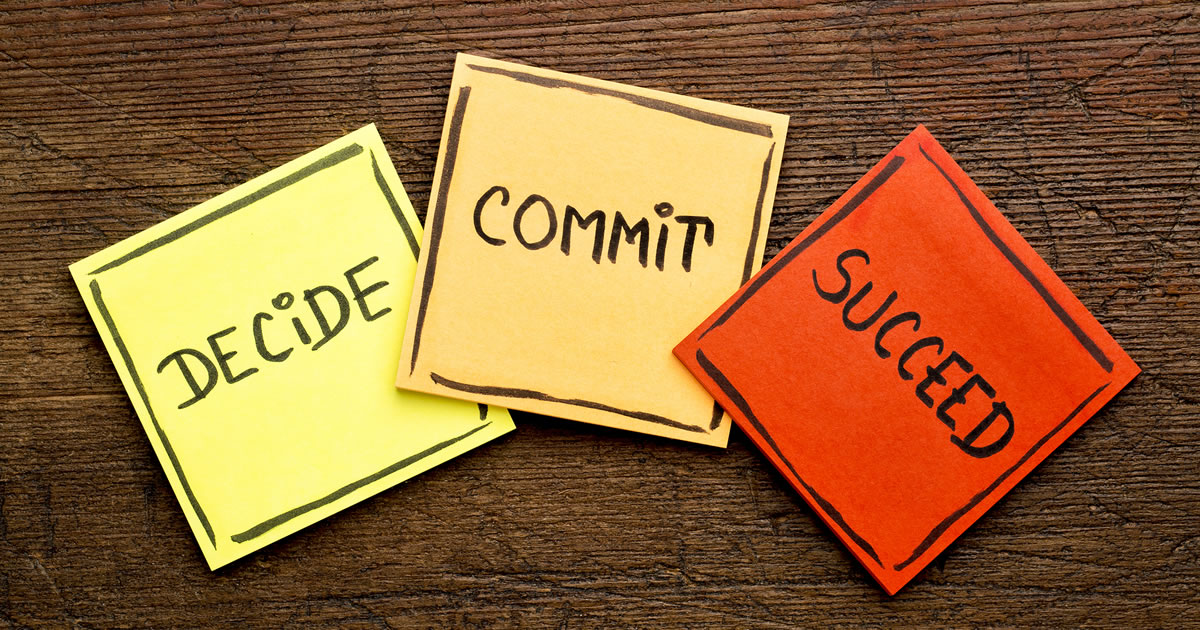 5 Steps To Focus Follow One Commitment Until Successful