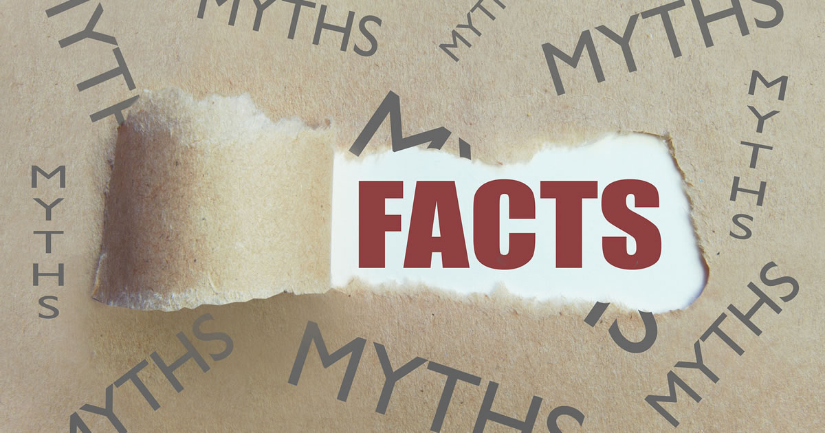 Words depicting uncovering the Facts beneath a bunch of myths
