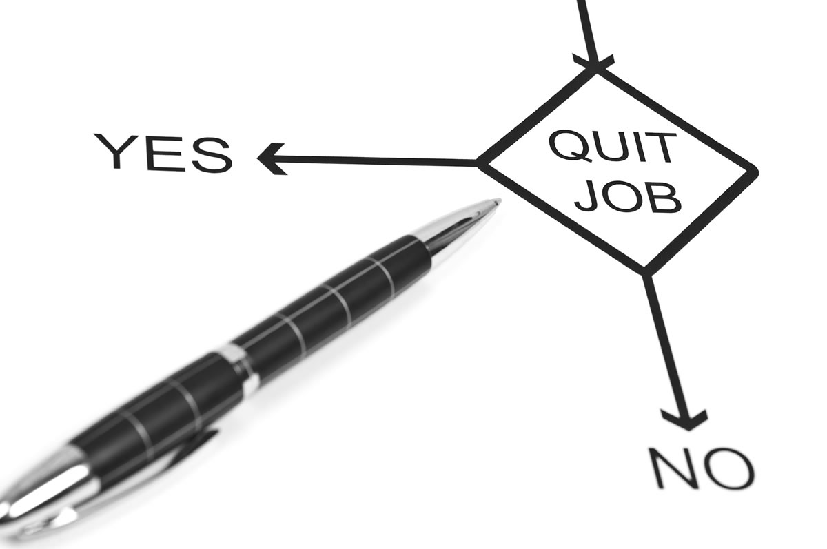 Quit Your Job? Yes or No