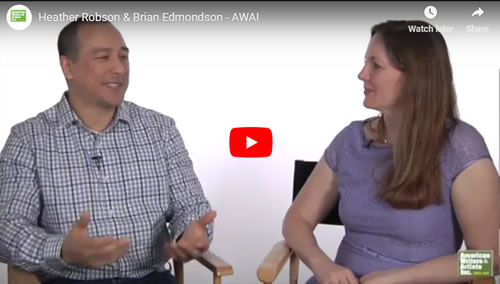 List Building Video Interview with expert Brian Edmondson and Heather Robson