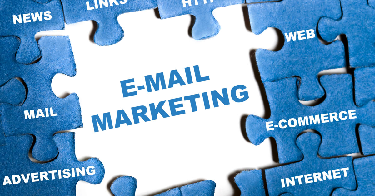 Email Marketing is the missing puzzle piece connecting website, content, e-commerce, web puzzle pieces