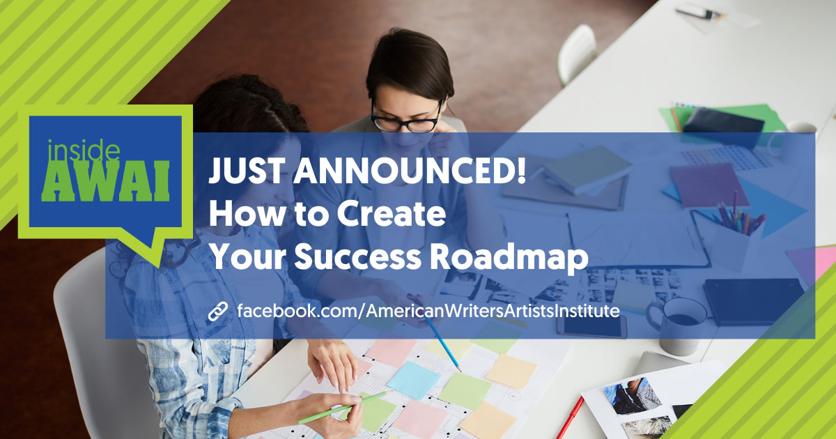 Photo of two businesswomen working together at a table with paperwork with overlay of the words Just Announced How to Create Your Success Roadmap