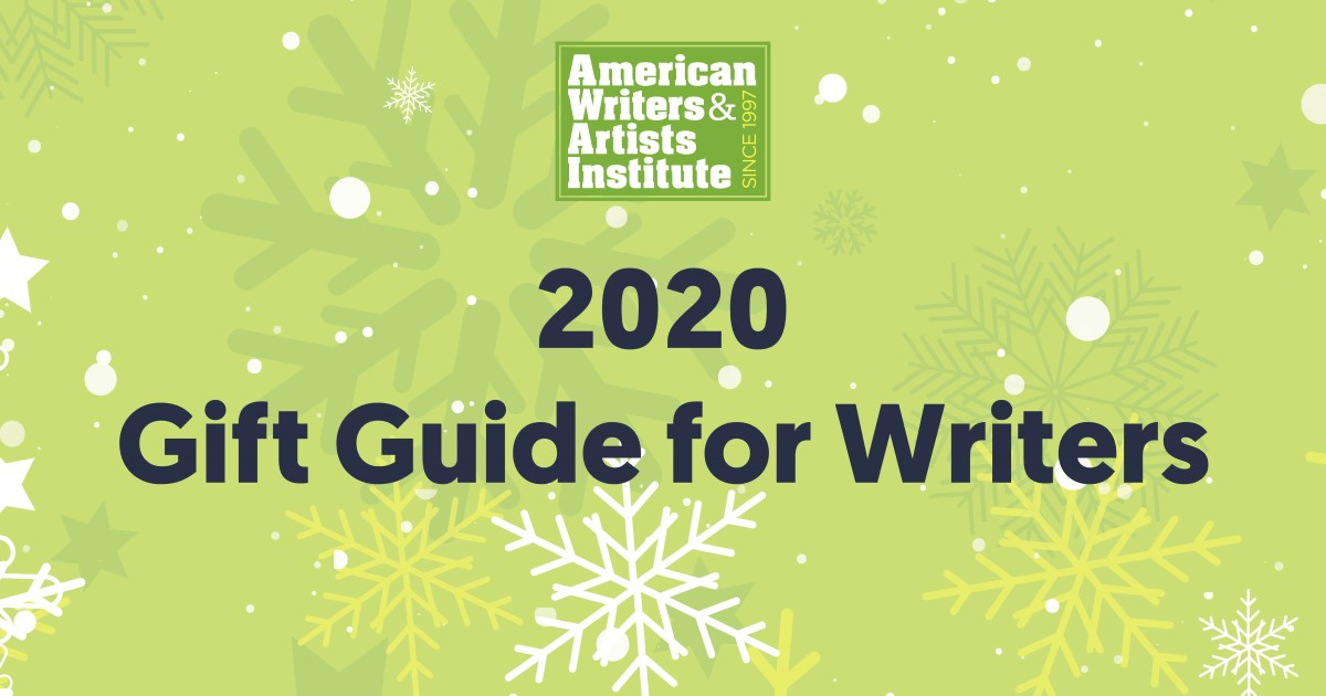 holiday gift guide for writers