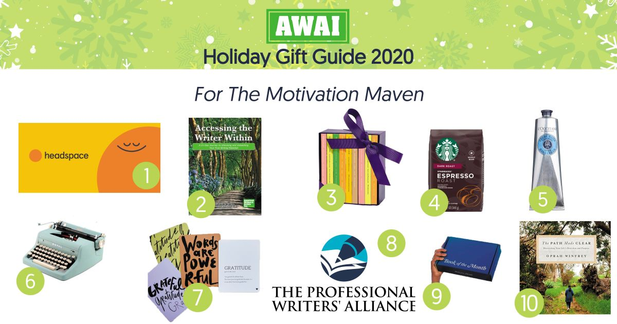 holiday gift guide for the motivation maven
