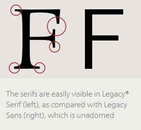 "Example of ""Serif Typeface"""