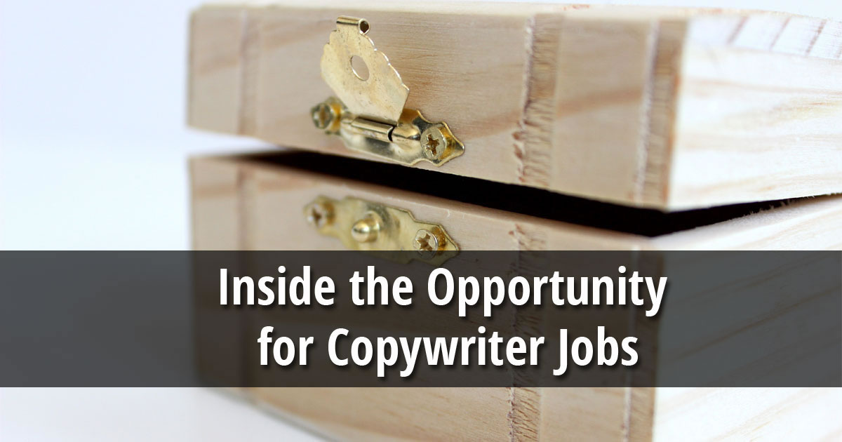 Inside the Copywriting Opportunity