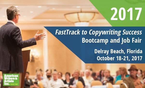 AWAI's 2017 FastTrack to Copywriting Success Bootcamp and Job Fair — Delray Beach, Florida — October 18-21, 2017