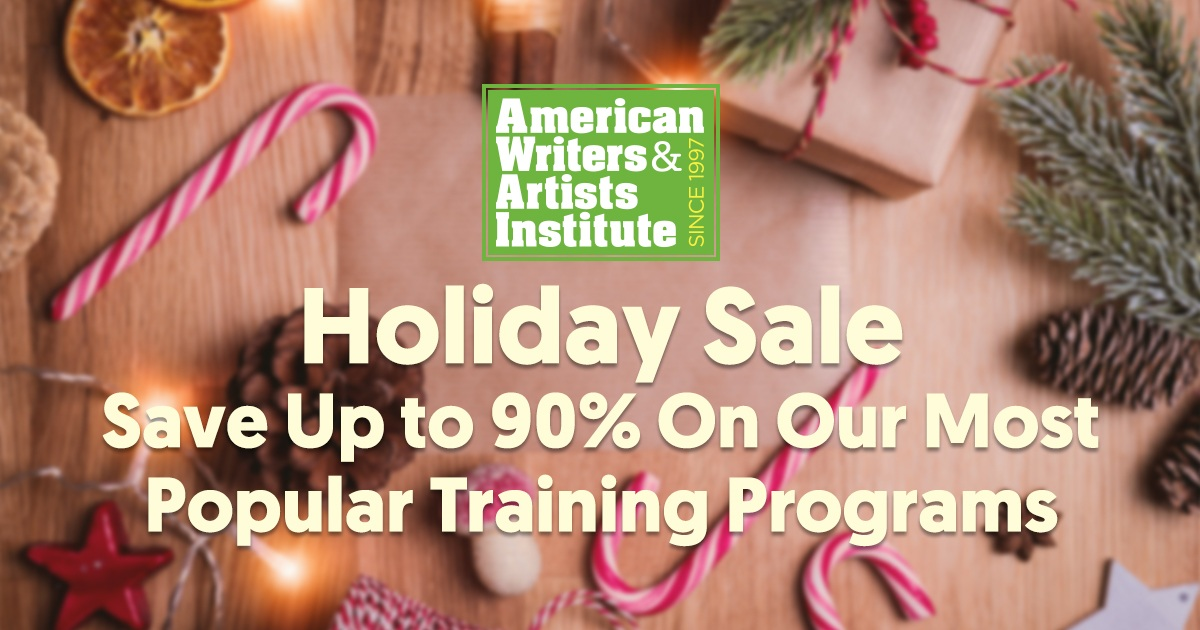AWAI's Holiday Sale - Save Up to 85% Off