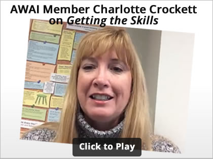 AWAI Member Charlotte Hicks Crockett on Getting Skills