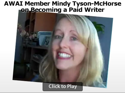 AWAI Member Mindy McHorse on Becoming a Paid Writer