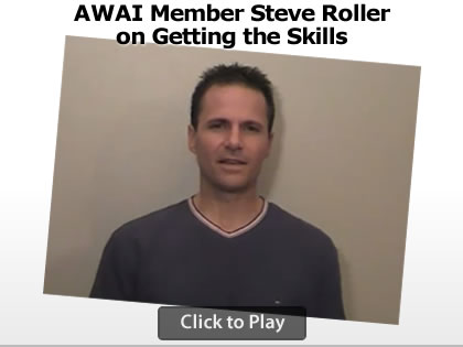 AWAI Member Steve Roller on Getting Skills