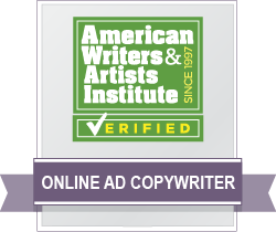 Online Ad Copywriter Badge