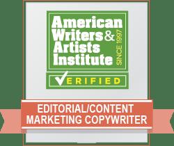 Editorial/Content Marketing Copywriter Badge