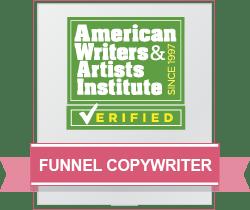 Funnel Copywriter Badge