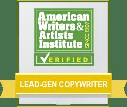 Lead-Gen Copywriter Badge