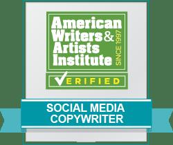 Social Media Copywriter Badge