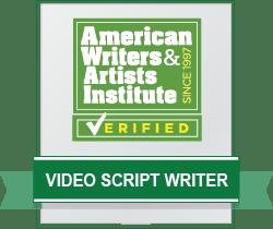 Video Script Writer Badge
