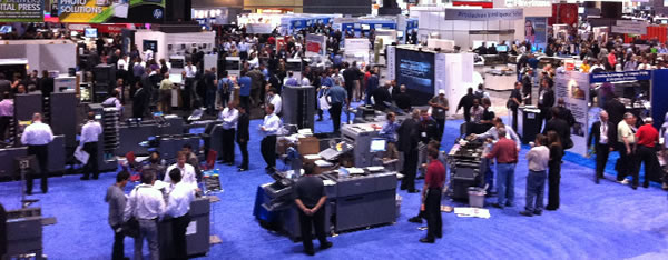 Main Exhibit Hall at Large Convention