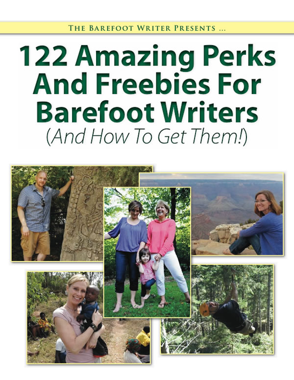 122 Amazing Perks And Freebies For Barefoot Writers (And How To Get Them!)