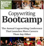 AWAI image: At AWAI's FastTrack to Copywriting Success Bootcamp and Job Fair, you'll expand your knowledge and turn your dreams Into reality in just three days
