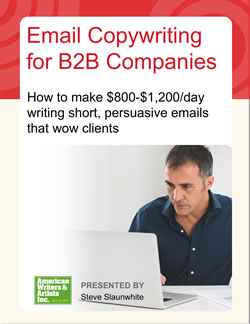 Writing Email Copy for B2B Companies — an AWAI program for B2B email marketing success