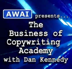 The Business of Copywriting Academy will help you develop a business around your copywriting skill
