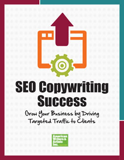 AWAI Program Cover: SEO Copywriting Success: Grow Your Business by Helping Clients Get More Traffic Online