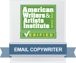 AWAI Verified™ Email Copywriter Badge