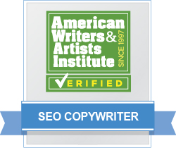 AWAI Verified™ SEO Copywriter Badge