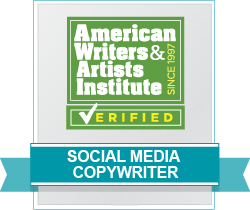 AWAI Verified™ Social Media Copywriter Badge