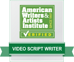 AWAI Verified™ Video Script Copywriter Badge