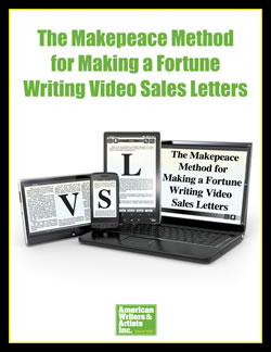 Improve your online content writing with The Makepeace Method for Making a Fortune Writing Video Sales Letters