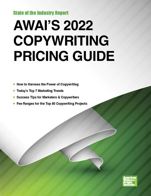 AWAI's 2019 Copywriting Pricing Guide